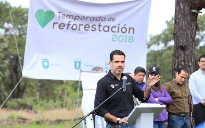 Arranca la edición 2018 del Programa Municipal de Reforestación en Zapopan