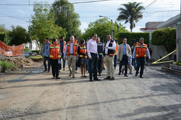 Supervisa Zapopan segunda etapa de pavimentación en colonia Altamira