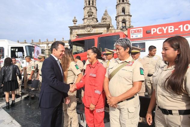 Tenemos la mejor Coordinación Municipal de Bomberos del país: Pablo Lemus