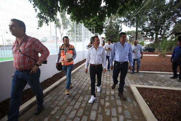 Entrega Zapopan, Ciudad de los Niños, la renovación integral de la unidad deportiva La Tuzanía