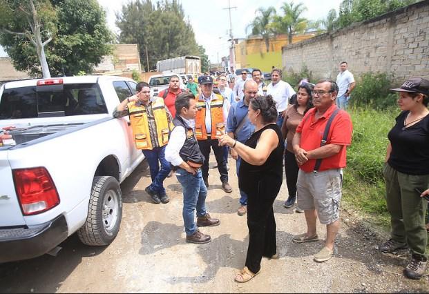 Activa Zapopan el Comité Municipal de Emergencias por lluvia; clausura tercera etapa del fraccionamiento Canta Luna