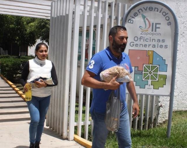Instala DIF Zapopan centro de acopio para afectados por las lluvias en Sinaloa
