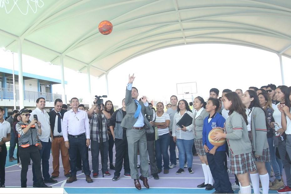 Llega programa Escuelas con Estrella a Secundaria Mixta 85 José Rogelio Álvarez