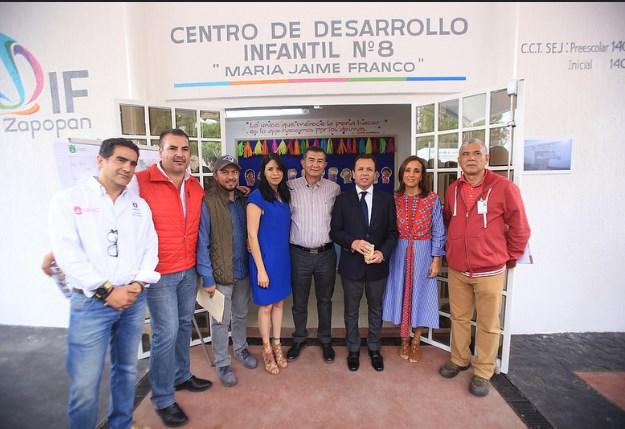 Dignifica Zapopan, Ciudad de los Niños, Centro de Desarrollo Infantil en Santa Ana Tepetitlán