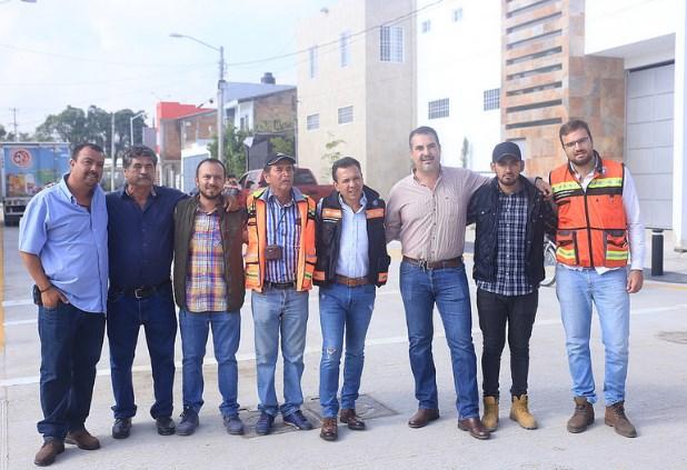 RealizaZapopanobras de solución pluvial e infraestructura en la zona de Juan Gil Preciado