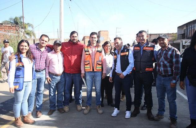 Dignifica Zapopan infraestructura vial y pluvial en colonia La Magdalena