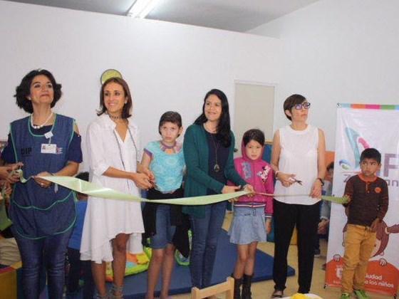 Inaugura DIF Zapopan Ludoteca en Santa Lucía