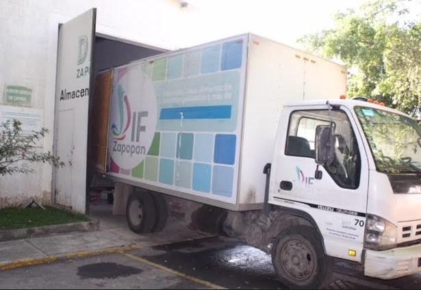 Envía DIFZapopan3.5 toneladas de víveres y enseres a afectados por las lluvias en Sinaloa