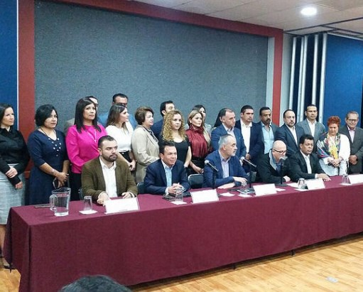 Respalda Pablo Lemus iniciativa de diputados de MC para establecer topes salariales a los servidores públicos
