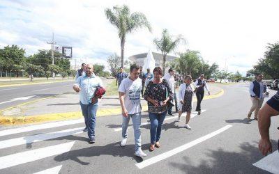 Entrega Zapopan mantenimiento profundo realizado en las avenidas Parres Arias y Venustiano Carranza
