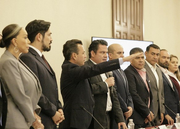 Rinde protesta Pablo Lemus como Presidente de la Junta de Coordinación Metropolitana