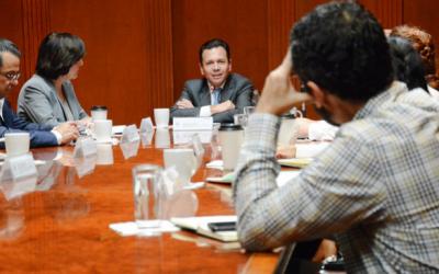 PresideZapopanreunión de Imeplan con Senadores de la República
