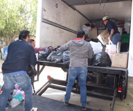 DIF Zapopan envía 6.2 toneladas de acopio a los afectados de Nayarit