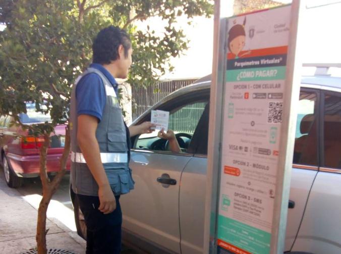 Avanza sistema de parquímetros virtuales en Zapopan