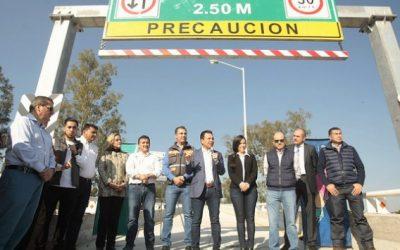 Entrega Zapopan solución vial en la carretera Guadalajara–Tepic