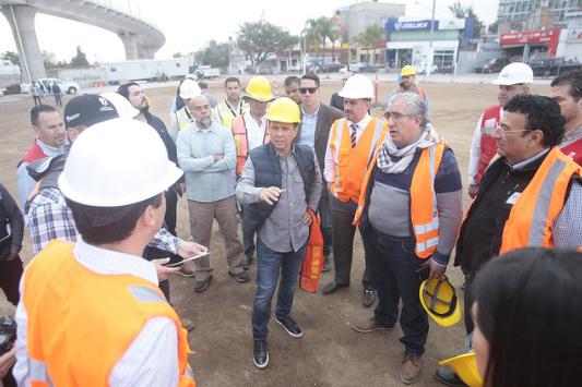 Acuerda Zapopan con SCT la conclusión de la recuperación del entorno urbano y vialidades afectadas por la L3 del Tren Ligero