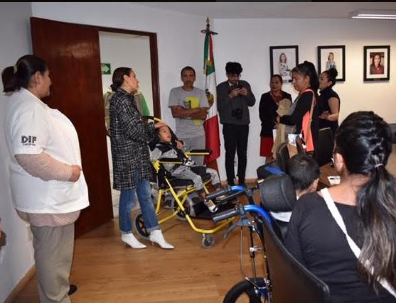 Apoya DIFZapopana niños y adolescentes con discapacidad