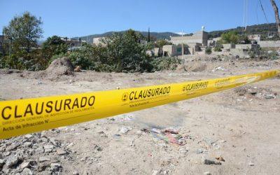 Combate Zapopan tiraderos clandestinos de escombro en zonas naturales
