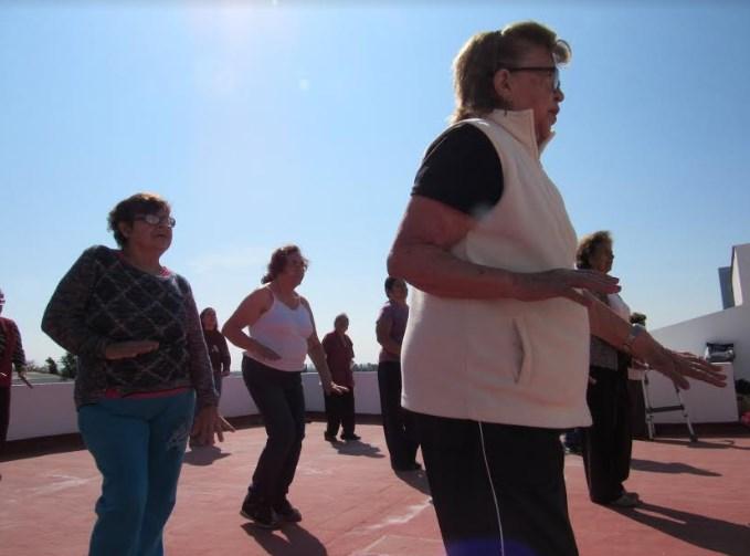Promueve DIF Zapopan ejercicio físico entre los adultos mayores