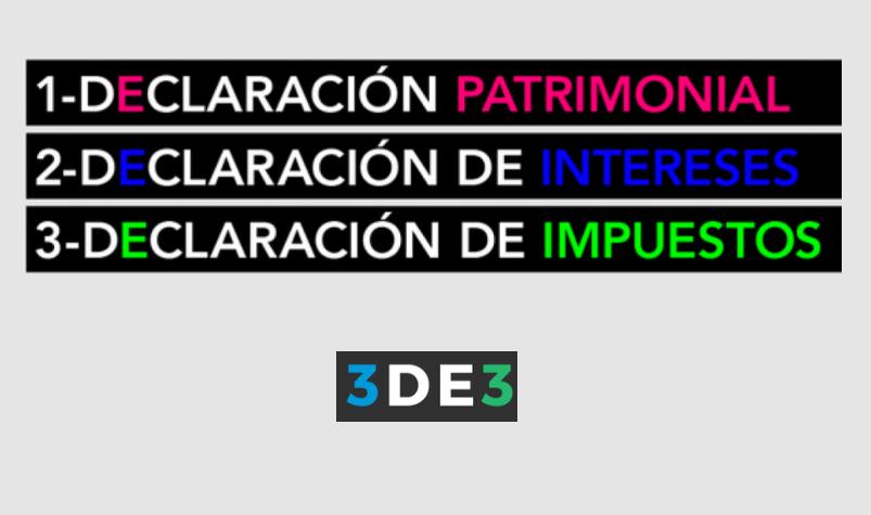 Cumple Pablo Lemus con actualización de declaración 3de3