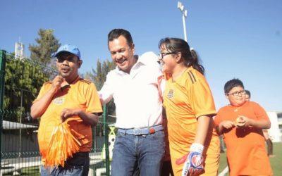 Conmemora Zapopan con deporte incluyente el Día Mundial del Síndrome de Down