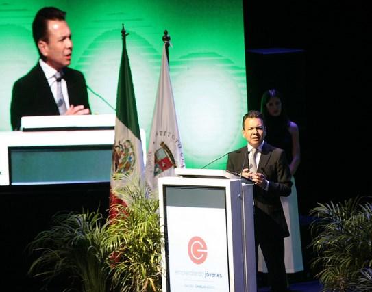 Inaugura Pablo Lemus el V Congreso Internacional Emprendiendo Jóvenes