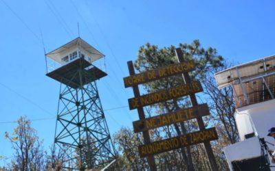 Opera torre El Nejahuete, por segundo año consecutivo, para la detección de incendios forestales