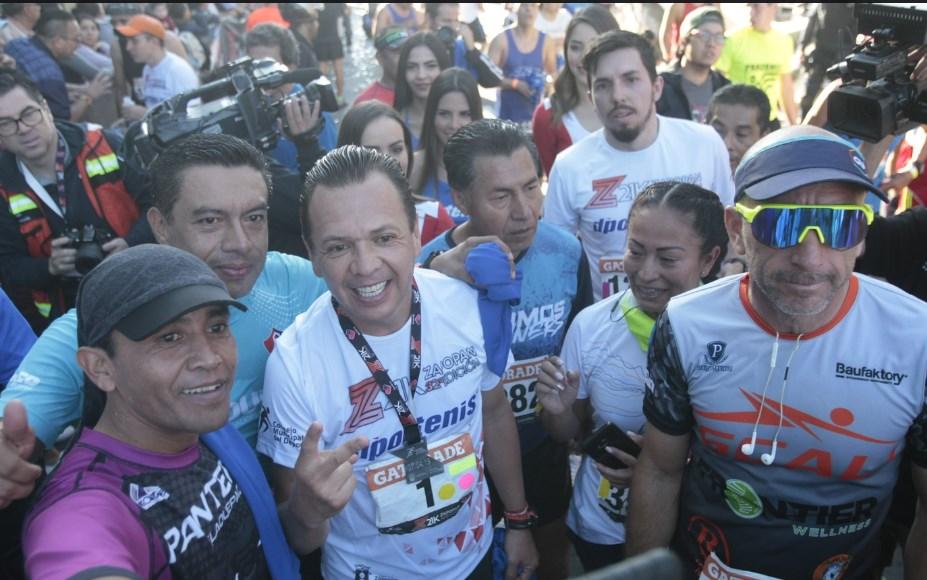 Zapopan, Ciudad de los Niños, realiza el 32° Medio Maratón 'Benito Juárez'