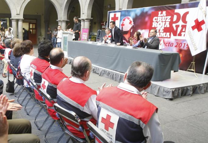 Inicia en Zapopan la colecta anual de Cruz Roja