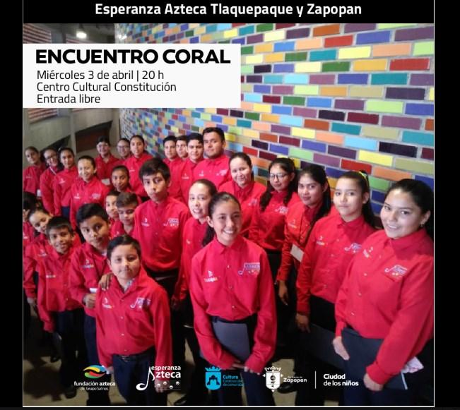 Presenta Zapopan 'Encuentro Coral' con las agrupaciones infantiles de Esperanza Azteca