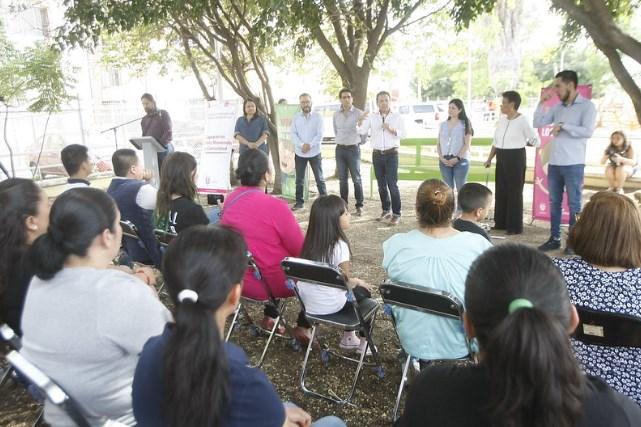Recupera Zapopan espacio público en la colonia Haciendas del Valle