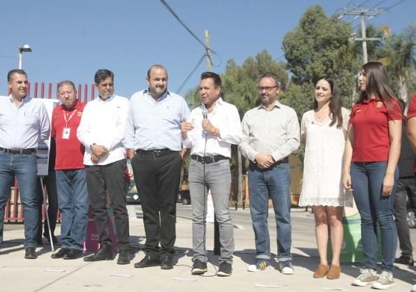 Transforma Zapopan avenida Mateo del Regil en la colonia El Briseño