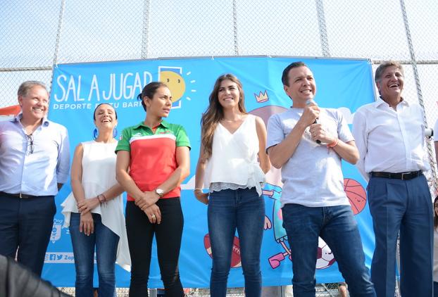 Presenta Zapopan programa Sal a Jugar en Villas de Guadalupe