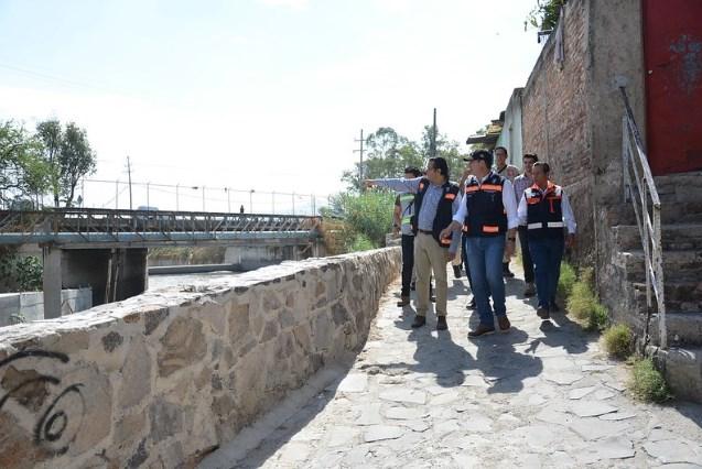 RealizanZapopany Guadalajara supervisión en el Canal Patria-Atemajac
