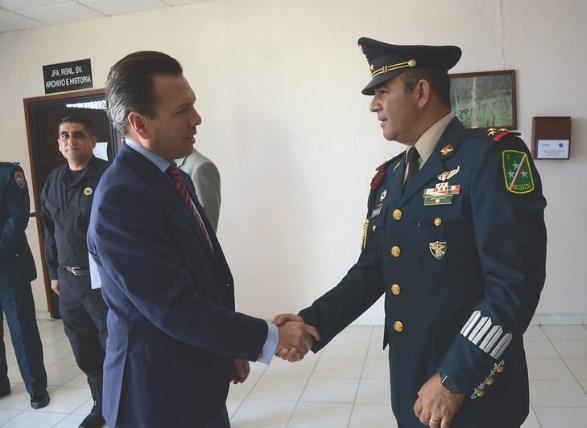 Asiste Pablo Lemus a bienvenida para jóvenes que cumplirán con el Servicio Militar Nacional