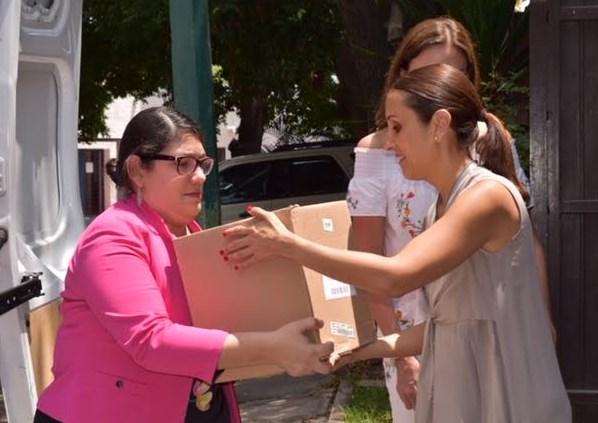 Entrega DIF Zapopan víveres para los damnificados de San Gabriel