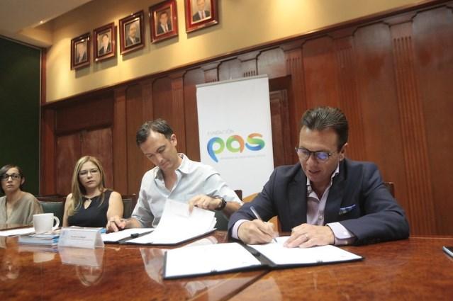 Signa Zapopan alianza con Fundación PAS para la erradicación del abuso sexual infantil