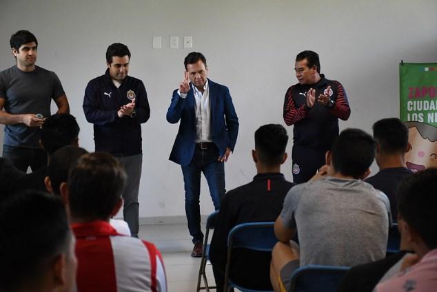 Llegan Luchadores Viales de Zapopan al Club Deportivo Guadalajara