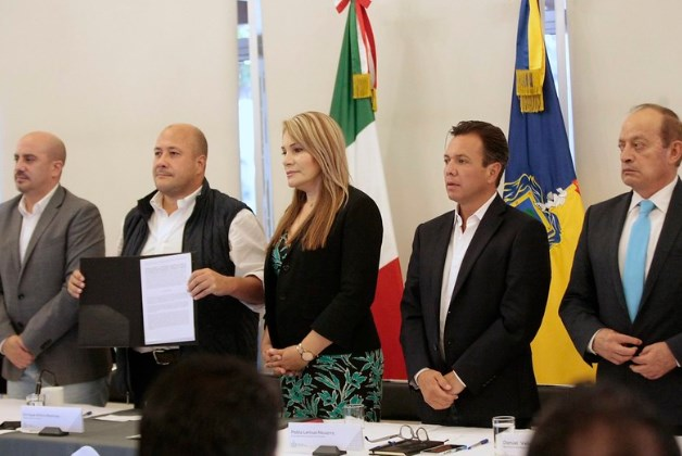 Suscribe Zapopan acuerdo para la creación del OPD Policía Metropolitana