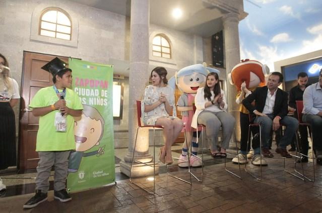 Impulsa Zapopan el emprendimiento en niñas y niños con Reto Kids