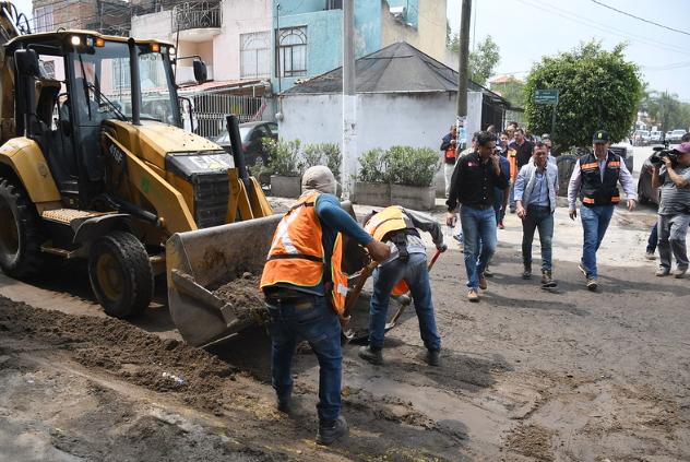 EntregaZapopanapoyo a familias afectadas por tormenta