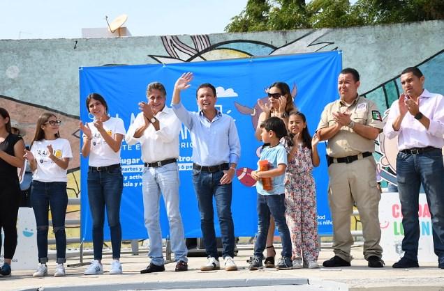 Lleva Zapopan el programa Sal a Jugar a San Juan de Ocotán