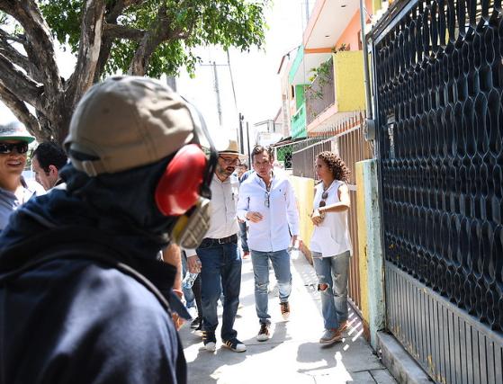 Encabeza Pablo Lemus recorrido en La Constitución para fortalecer las acciones de combate al dengue
