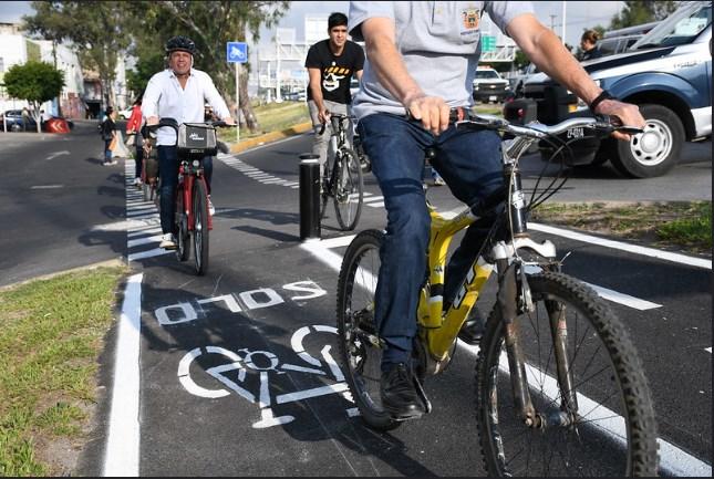 Inaugura Zapopan ciclovía en Anillo Periférico Norte