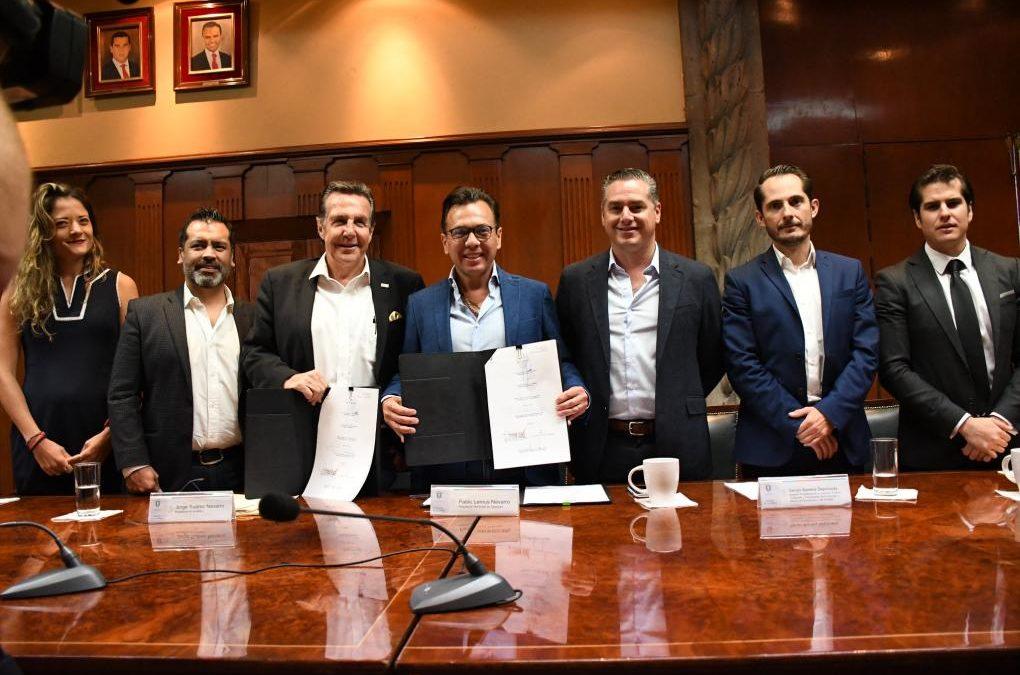 Firma Zapopan convenio con la Asociación de Parques Industriales del Estado de Jalisco