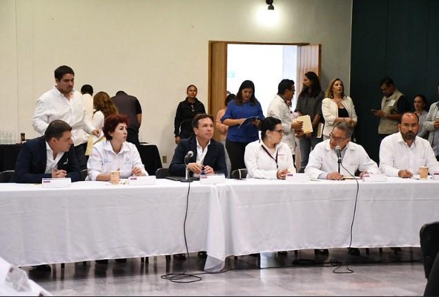 Encabeza Pablo Lemus sesión de la zona Región Centro de la Red de Municipios por la Salud