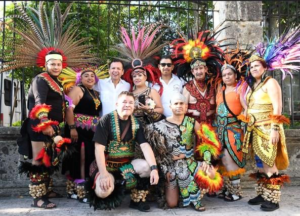 Celebran Día del Danzante, pilar de La Romería: Ciclo Ritual de la Llevada de la Virgen
