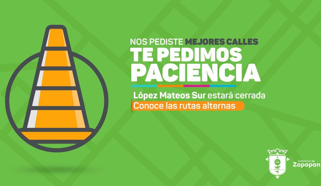 Arrancan Obras Viales en López Mateos Sur
