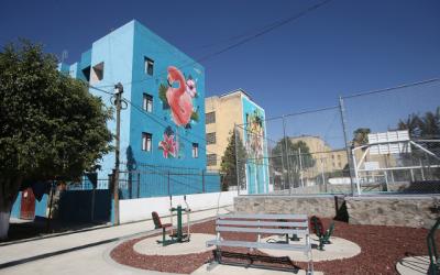 Presenta Zapopan construcción de parque y mejoramiento urbano en la colonia Gustavo Díaz Ordaz